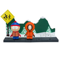 South Park Bus Stop Small Construction Set by McFarlane Toys