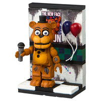 Five Nights at Freddy's Party Wall with Withered Freddy Micro Construction Set