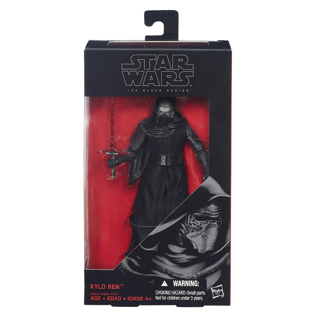 Star Wars Black Series Kylo Ren 6-inch Action Figure: The Force Awakens by Hasbro