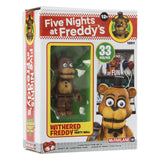 Five Nights at Freddy's Party Wall with Withered Freddy Micro Construction Set by McFarlane Toys