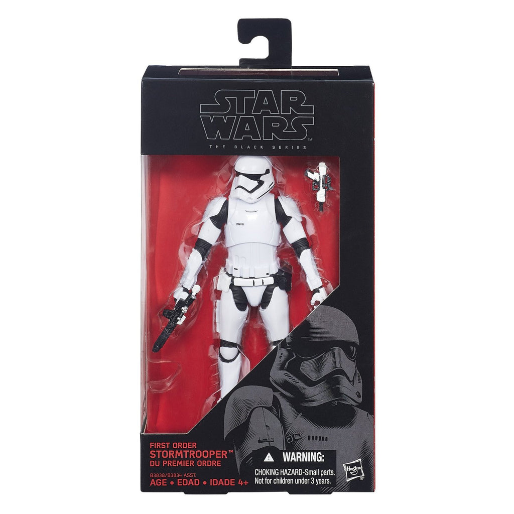 Star Wars Black Series First Order Stormtrooper 6-inch Action Figure: The Force Awakens - Hasbro - Hasbro