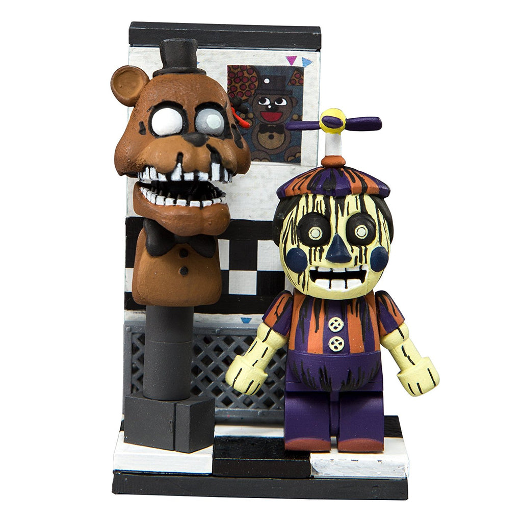 Five Nights at Freddy's Office Hallway Phantom Balloon Boy Micro Construction Set