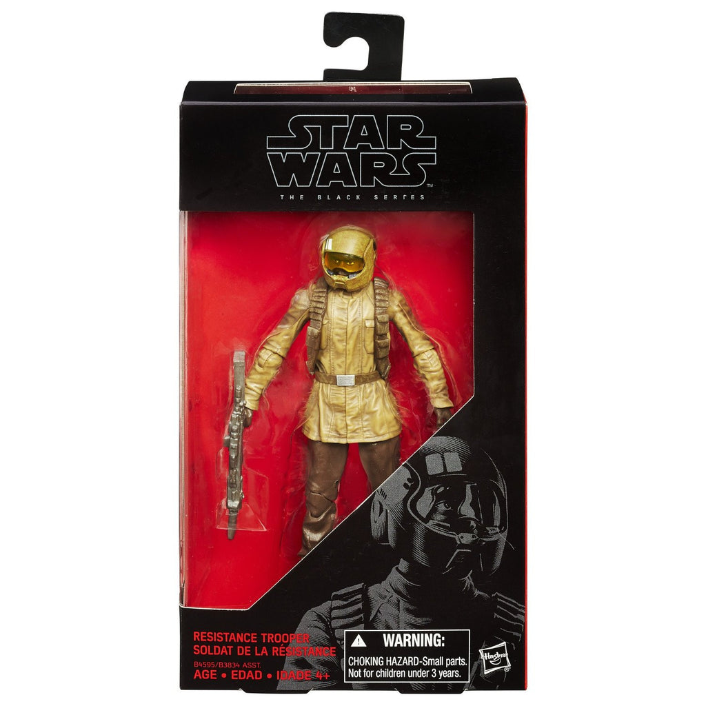 Star Wars Black Series Resistance Trooper 6-inch Action Figure: The Force Awakens by Hasbro
