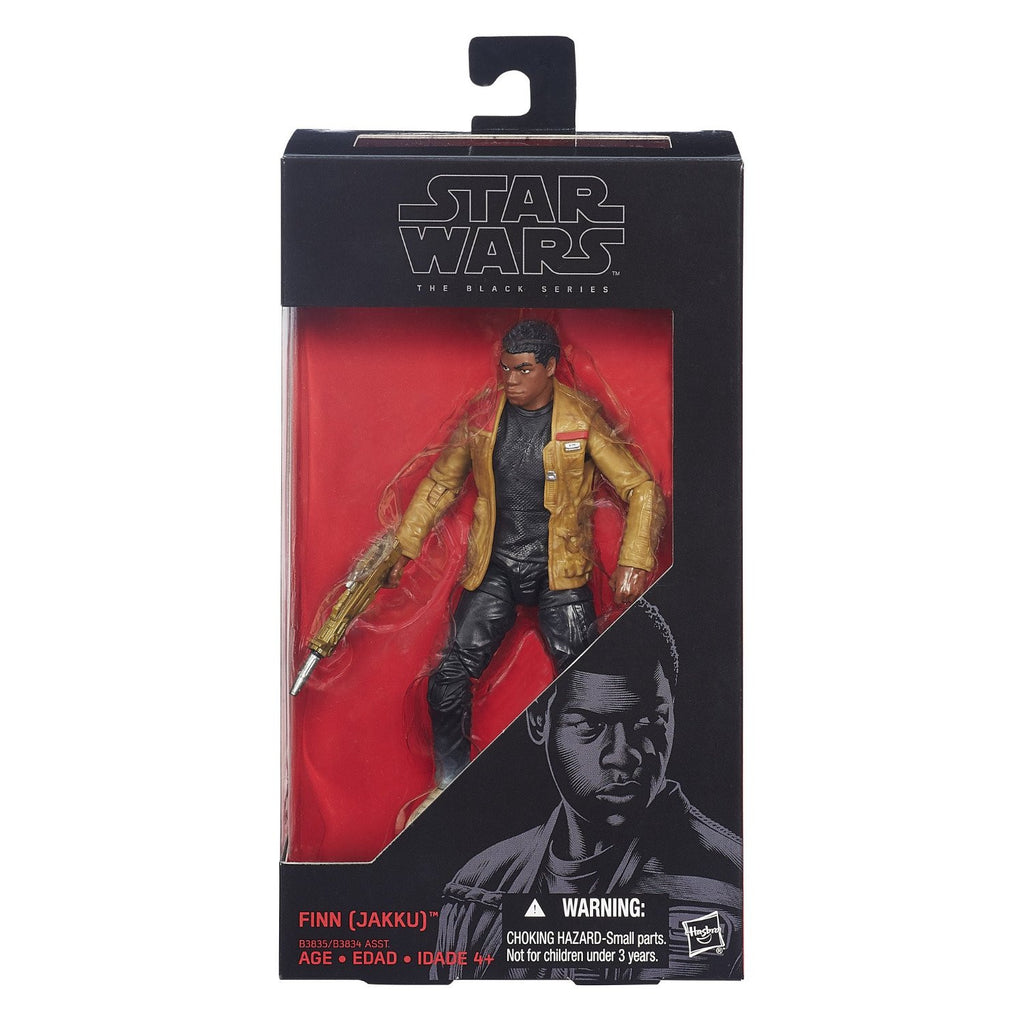 Star Wars Black Series Finn Jakku 6-inch Action Figure: The Force Awakens - Hasbro - Hasbro