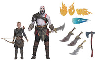 God of War 2018 Kratos & Atreus 2-Pack 7″ Scale Ultimate Action Figure