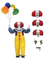 "Pennywise IT 1990 Ultimate 7"" Scale Action Figure by NECA"
