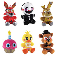 Five Nights at Freddy's 6-Inch Plush Set of 6 from Wave 2 - Funko - Funko