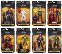 Doctor Strange Marvel Legends 6-Inch Action Figures Complete Set of 8 w/ Dormammu Build-A-Figure - Hasbro - Hasbro