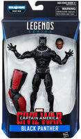 Captain America Civil War Marvel Legends Black Panther Action Figure by Hasbro