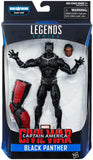 Captain America Civil War Marvel Legends Black Panther Action Figure - Hasbro - Hasbro