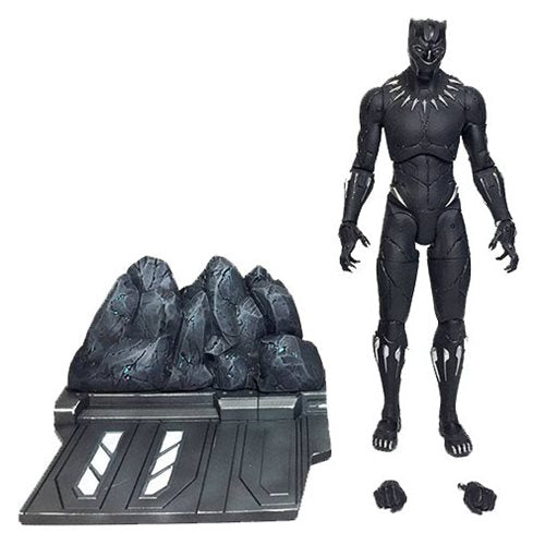Black Panther Movie Marvel Select Action Figure w/ Deluxe Base
