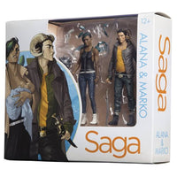 Saga Alana & Marko Action Figures 2-Pack San Diego Comic-Con 2016 Exclusive SDCC - Skybound Entertainment - Skybound Entertainment