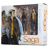 Saga Alana & Marko Action Figures 2-Pack San Diego Comic-Con 2016 Exclusive SDCC by Skybound Entertainment