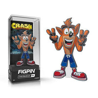 Crash Bandicoot Crash FiGPiN Enamel Pin by FiGPiN