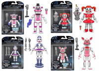 Five Nights at Freddy's 5-inch Action Figure Complete Set w/ Ennard Build-A-Figure