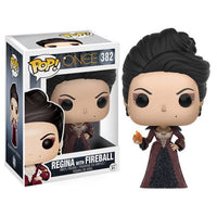 Once Upon a Time Regina with Fireball Pop! Vinyl Figure by Funko