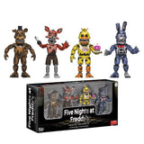 Five Nights at Freddy's Nightmare 2-Inch Vinyl Figure Set Action Figures