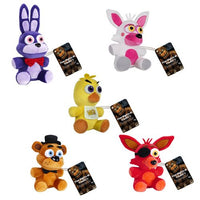 Five Nights at Freddy's 6-Inch Plush Set of 5 from Wave 1 - Funko - Funko