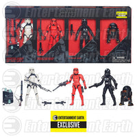 Star Wars Black Series Imperial Forces 4-Pack 6-inch Action Figures: The Force Awakens - Hasbro - Hasbro