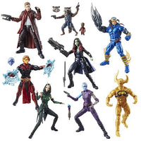 Guardians of the Galaxy Marvel Legends Action Figures Set w/ Mantis BAF
