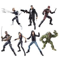 Marvel Knights Legends Action Figures Set w/ Man-Thing BAF