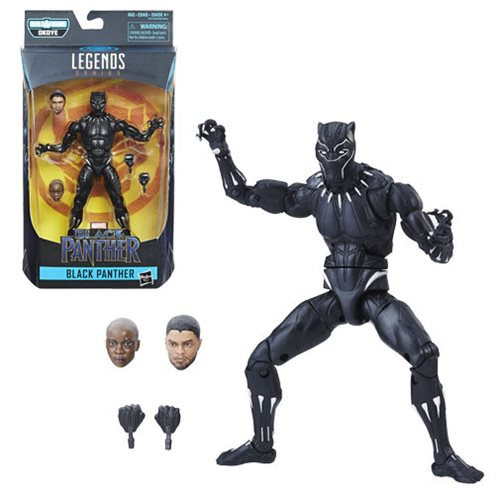 Black Panther Marvel Legends 6-Inch Action Figure by Hasbro