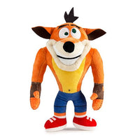 Crash Bandicoot Crazy Eyes Phunny 8-Inch Plush