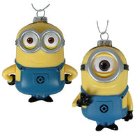 Despicable Me Minions Dave & Carl Ornaments by Kurt S. Adler
