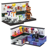 Five Nights at Freddy's Prize Corner & Party Room Small Construction Set 2PK by McFarlane Toys