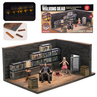 The Walking Dead The Governor's Room 292pc Construction Set by McFarlane Toys