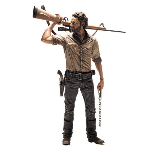 The Walking Dead Rick Grimes 10-Inch Deluxe Action Figure by McFarlane Toys