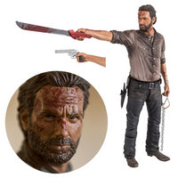 The Walking Dead Rick Grimes Vigilante Edition 10-Inch Deluxe Action Figure by McFarlane Toys