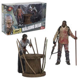 The Walking Dead Morgan and Impaled Walker Spike Trap Deluxe Action Figure - McFarlane Toys - McFarlane Toys