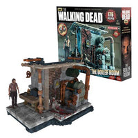 The Walking Dead Boiler Room 176pc Construction Set by McFarlane Toys