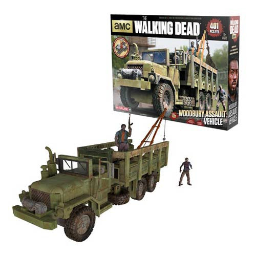 The Walking Dead Woodbury Assault Vehicle 401pc Construction Set by McFarlane Toys