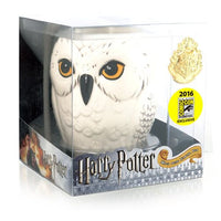 Harry Potter Hedwig Owl Ceramic Mug & Gold Hogwarts Crest Lapel Pin SDCC Exclusive - Monogram - Monogram