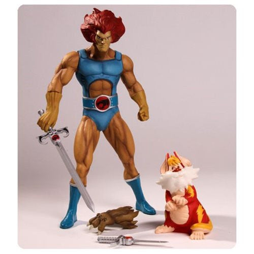 ThunderCats Lion-O and Snarf Mega Scale Action Figure 2-Pack - Mezco Toyz - Mezco Toyz