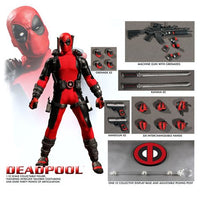 Deadpool One:12 Collective Action Figure 1:12 Scale by Mezco