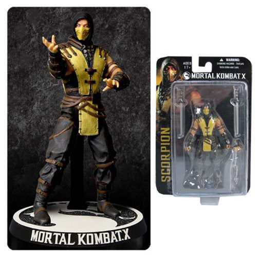 Mortal Kombat X Scorpion 3 3 4 Action Figure By Mezco Toyz