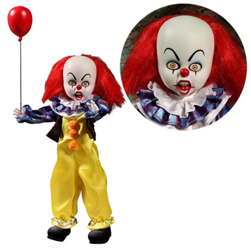 Pennywise Living Dead Dolls from Stephen King's IT by Mezco Toyz