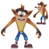 "Crash Bandicoot 7"" Scale Action Figure with Crate Replica by NECA"