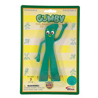 Gumby & Friends Retro Gumby Bendable Figure 50th Anniversary Edition by NJ Croce