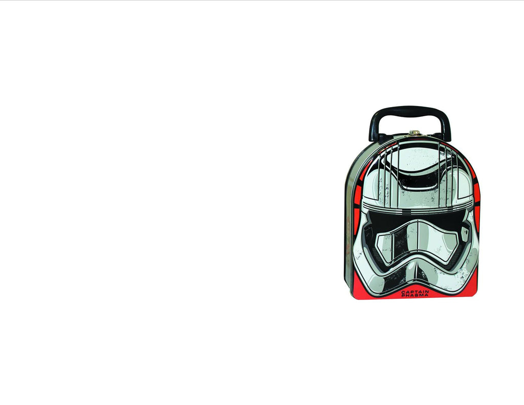 Star Wars Force Awakens Captain Phasma Arch Metal Tin Lunch Box by Tin Box Company