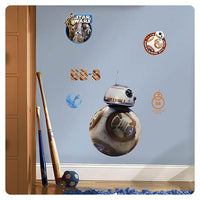 Star Wars Episode VII The Force Awakens BB-8 Giant Wall Decal - RoomMates - RoomMates