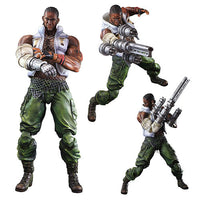 Final Fantasy VII Advent Children Barret Wallace Play Arts Kai Action Figure - Square-Enix - Square-Enix