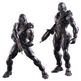 "Halo 5 Guardians Spartan Locke 10"" Play Arts Kai Action Figure by Square-Enix"