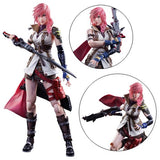 "Final Fantasy XIII Dissidia Lightning 9"" Play Arts Kai Action Figure by Square-Enix"