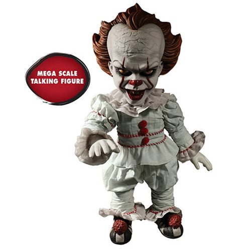 IT Pennywise Talking Mega-Scale 15-Inch Doll by Mezco Toyz