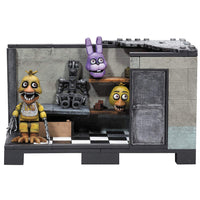 FNAF Five Nights at Freddy's Backstage Medium Construction Set Classic Edition