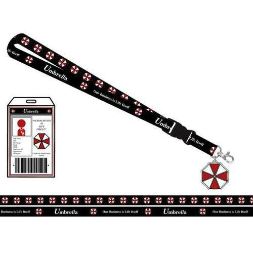 Resident Evil Lanyard w/ ID Holder Badge by Bioworld